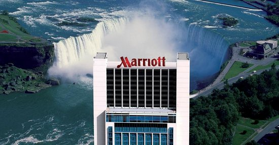 Niagara Falls Marriott On The Exterior