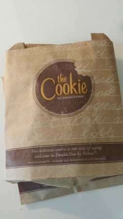 The Morrison, a DoubleTree by Hilton Hotel: welcome cookies