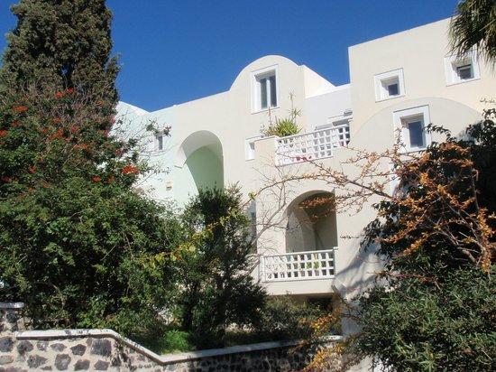 Atrium Villa: The villa from the street