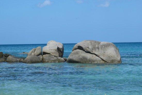 Patong Bay View Resort : spiaggia a 10 minuti di moto (karon)