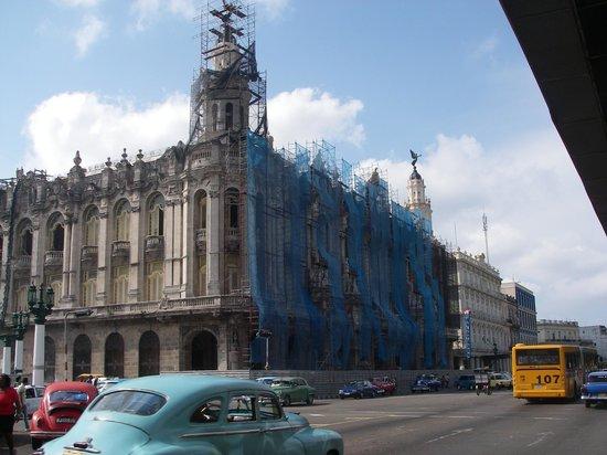 Gran Teatro de La Habana: Teatr w remoncie