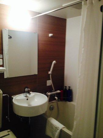 Sotetsu Fresa Inn Tokyo Kyobashi: Bathtub! :D