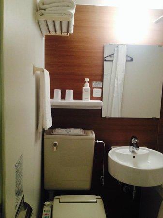 Sotetsu Fresa Inn Tokyo Kyobashi: Toilet