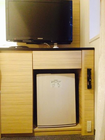 Sotetsu Fresa Inn Tokyo Kyobashi: TV and mini bar