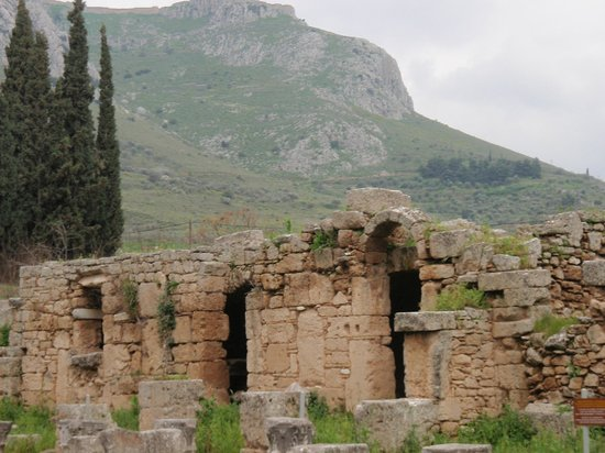 Ancient Corinth Picture Of Ancient Corinth Archaia