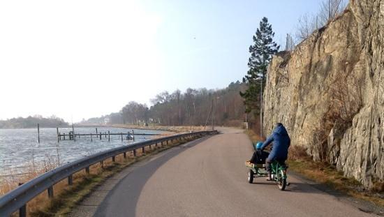 Southern Goteborg Archipelago: los únicos vehículos son así
