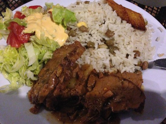 carne guisada con arroz picture of central park boquete