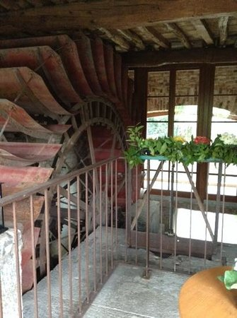 Hotel Mulino Grande: le pale del vecchio mulino