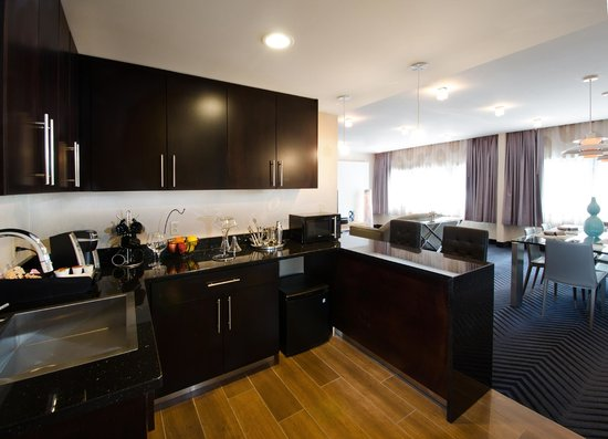Crowne Plaza Princeton - Conference Center : Presidential Suite - Kitchenette