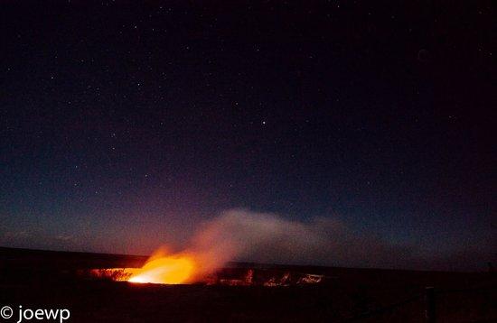Mt. Kilauea : Kilauea at night
