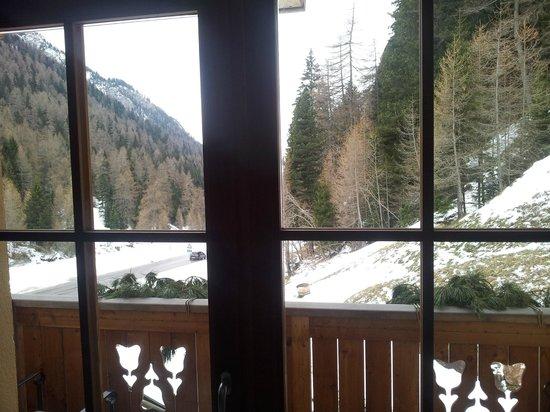 Post Hotel Scoiattolo: Vista dalla camera