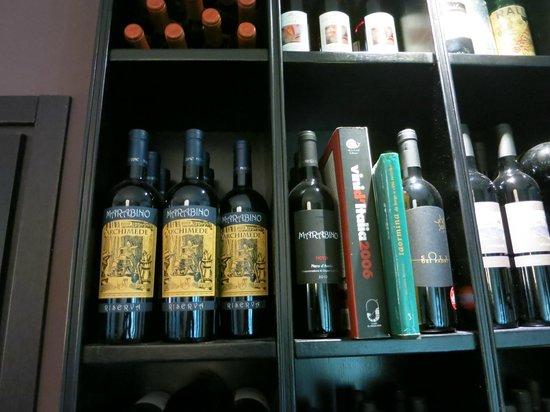 Ristorante Le Naumachie: Wine Selection