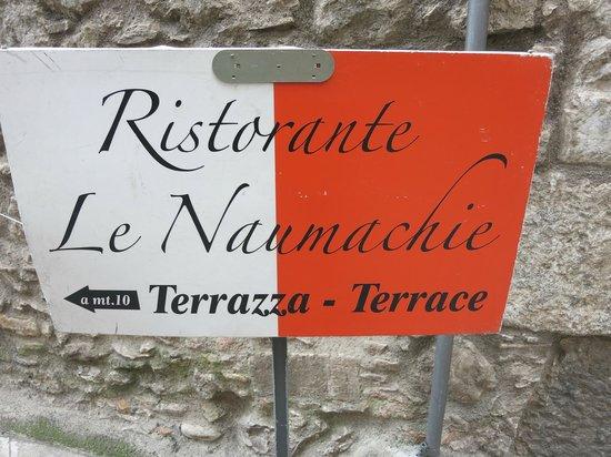 Ristorante Le Naumachie: Display