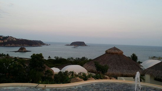Quinta Real Huatulco : The view