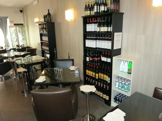 Ristorante Le Naumachie : Inside the restaurant
