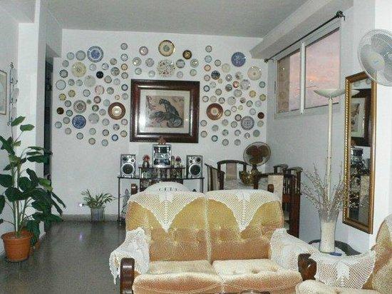 Casa Maura Habana Vieja: angolo del soggiorno