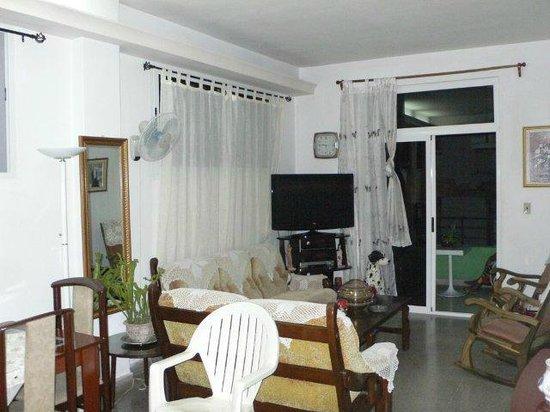 Casa Maura Habana Vieja: soggiorno