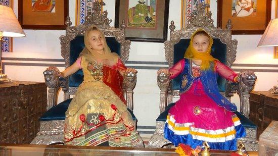 Castle Mandawa Hotel : Le mie principesse