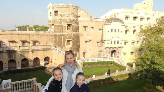 Castle Mandawa Hotel : La parte da ristrutturare