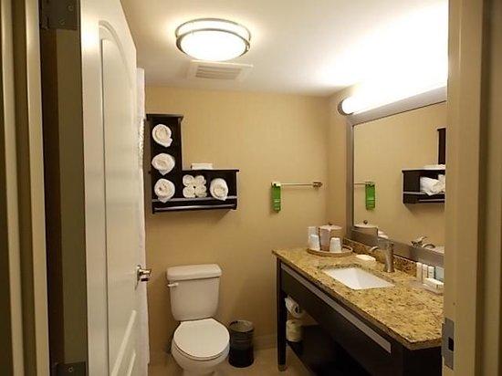 Hampton Inn Daytona Beach/Beachfront: Clean and modern bathroom