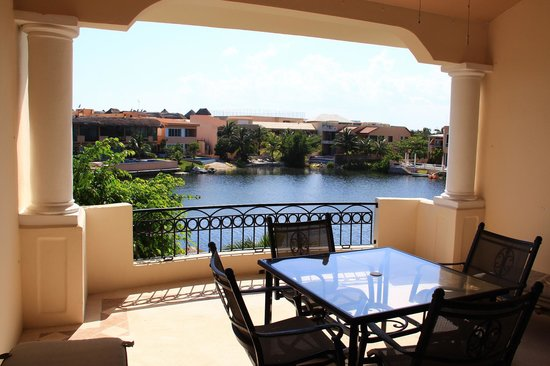 Aventuras Club Lagoon: View from the Terrace