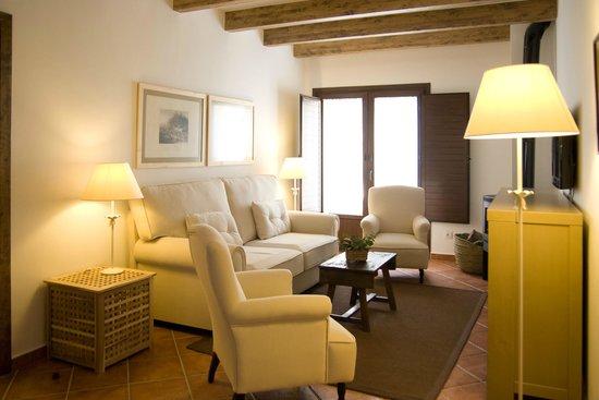 Refugio del Segura: Apartamento dúplex Salón