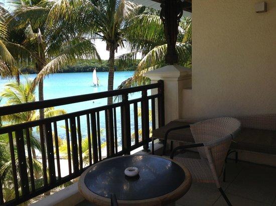 Shandrani Beachcomber Resort & Spa: grand balcon