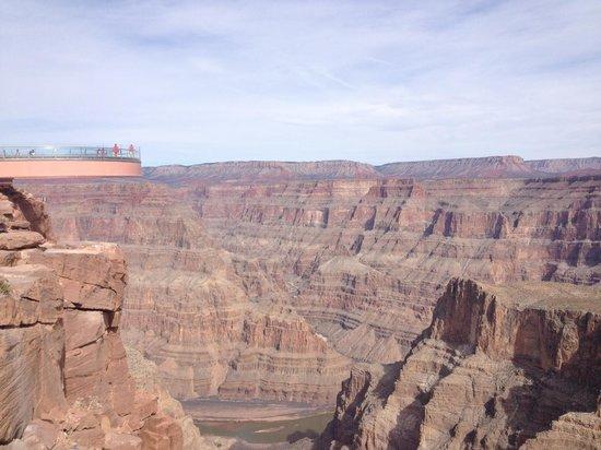 Grand Canyon Skywalk: Beautiful View!!!