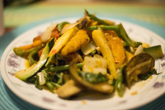 Citronella: Vegetable curry - so good.