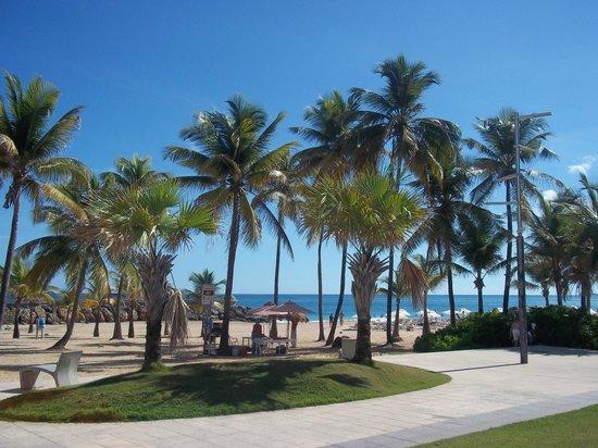 Holiday Inn Express San Juan Condado: plage