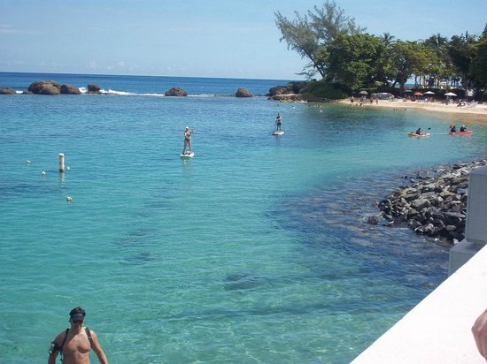 Holiday Inn Express San Juan Condado: plage à distance de marche