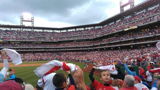 Citizens Bank Park: Phillies Fans are Enthusiastic!