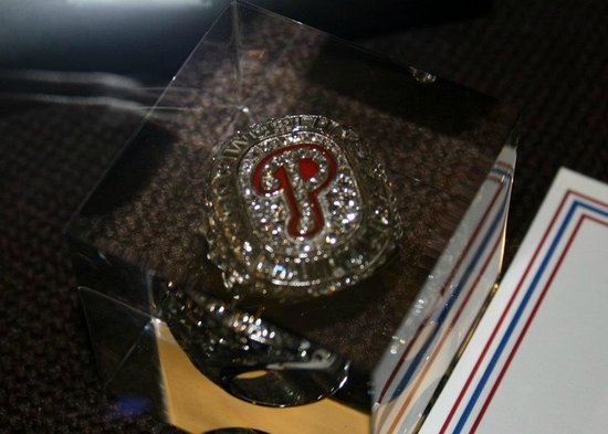 Citizens Bank Park: On Display in the Hall of Fame Club