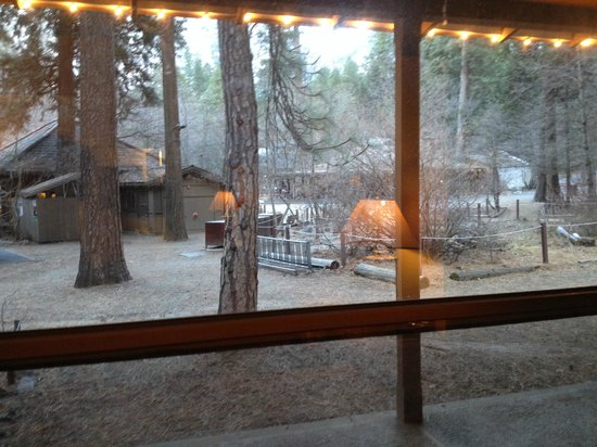 Half Dome Village: view from Curry  Stoneman's room