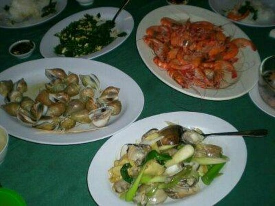 Gayang Seafood Restaurant: The Items Ordered