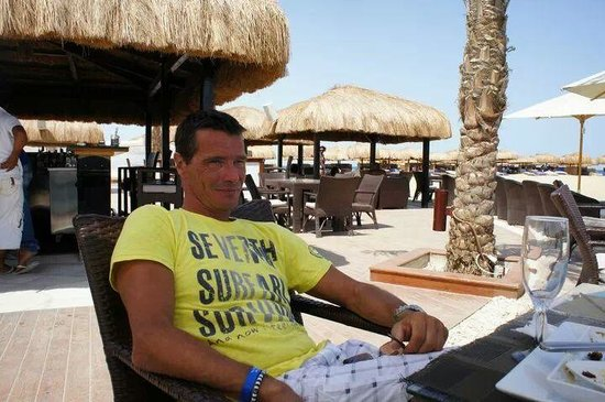 Moods Restaurant & Beach Club : moods teras