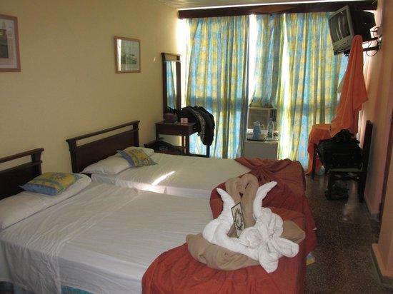 Hotel Ancon: Notre chambre