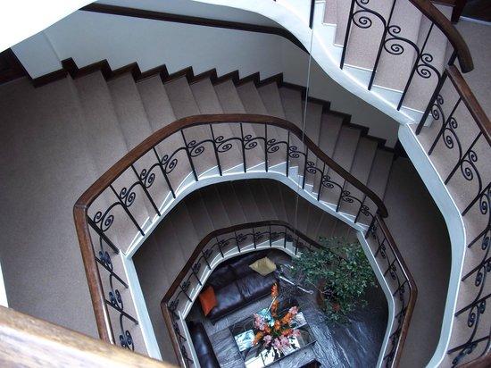 Encantada Casa Boutique Spa: escalier