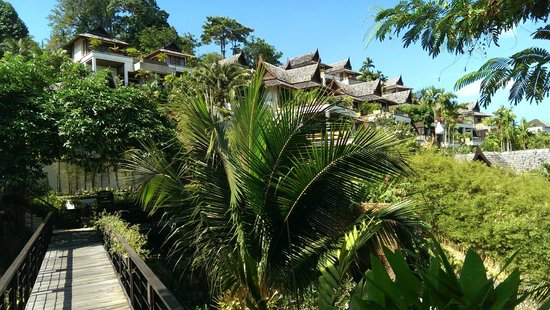 Ayara Hilltops Resort and Spa: vue jardin