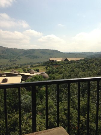 Thaba Eco Hotel: The view from my balcony