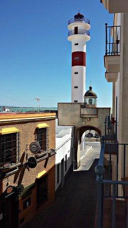 Hotel Duque de Najera: Vista desde la habitación