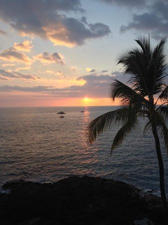 Royal Kona Resort : Our sunset view