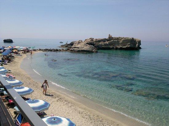 Borgo San Cosmo: playa santa domenica