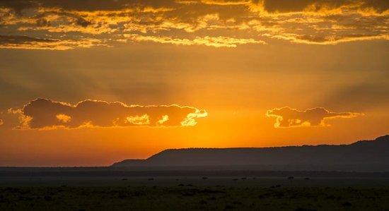 Offbeat Mara Camp: Sunset