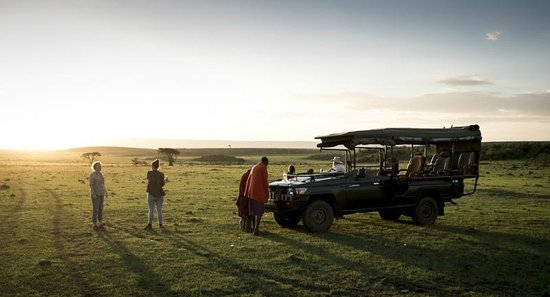 Offbeat Mara Camp : Sundowners