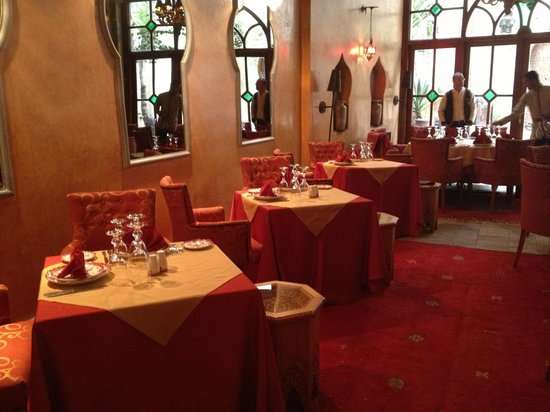 La Maison Arabe : Nice Riad and good Restaurant .