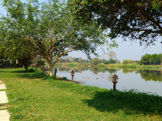 The Legend Chiang Rai : The river, from the grounds