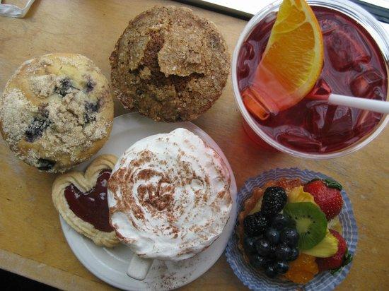 Nashoba Brook Bakery : pastries