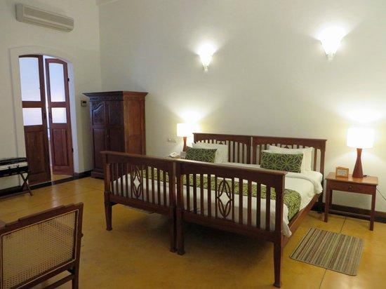 Palais de Mahe : The room