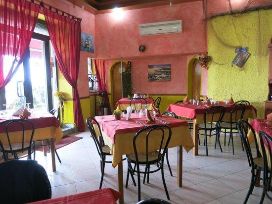Ristorante Pizzeria Calypso : View from inside the restaurant